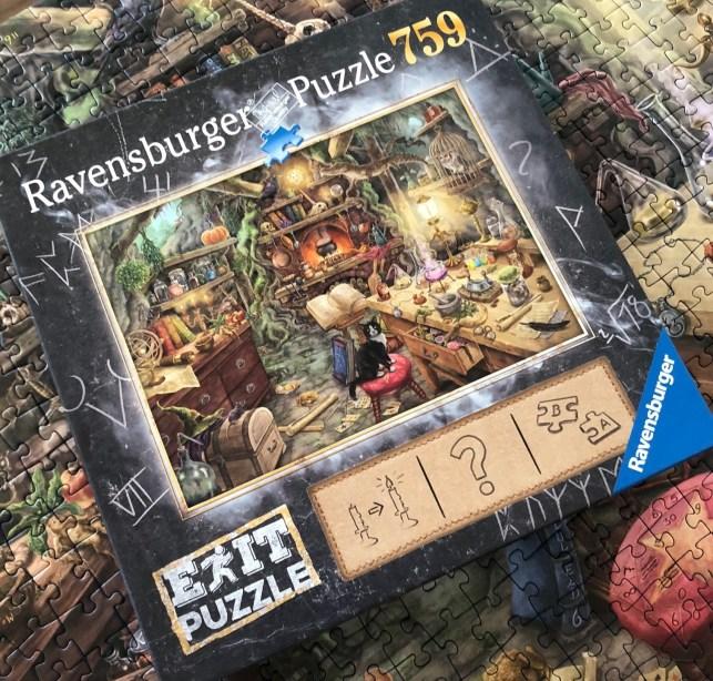 Exit puzzle hexenkueche ravensburger