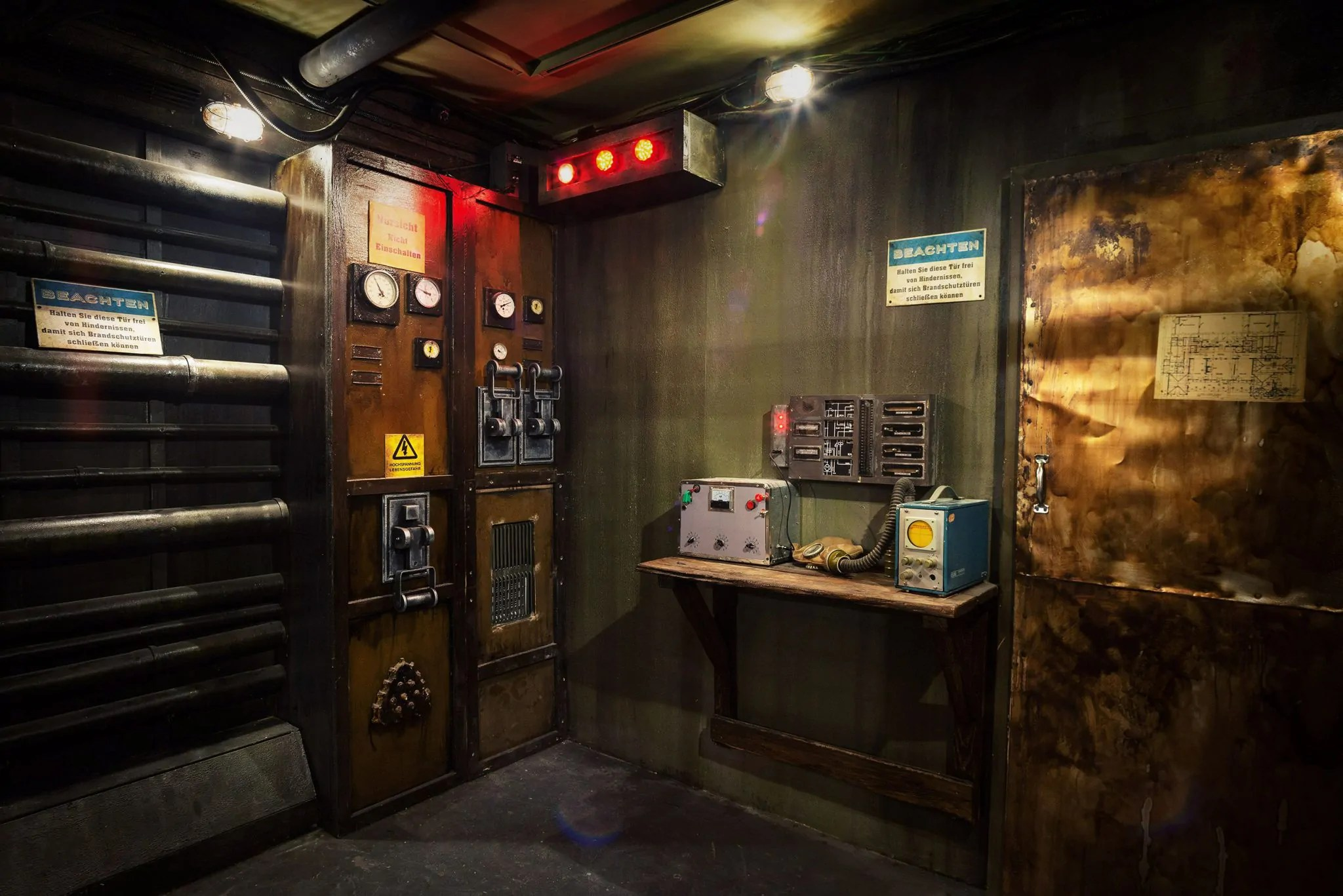 Bunker - Escape Room - EXITROOM