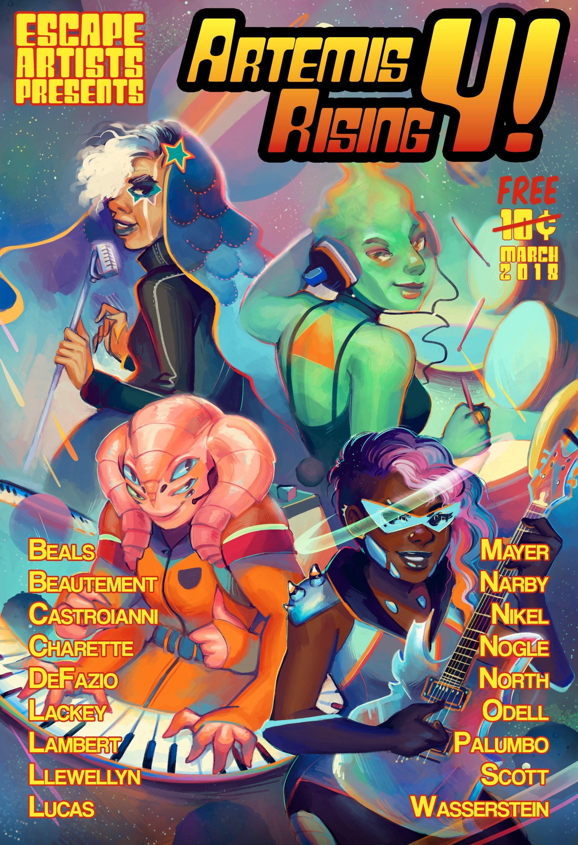 Artemis Rising 4 by Geneva Benton (2018)