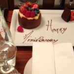 Anniversary at JW Marriott Cannes