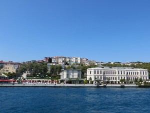 The Bosphorus, such an incredible view