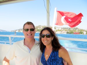 One of our best experiences - a cruise on the Bosphorus.