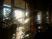 The view from the bar at La Valencia