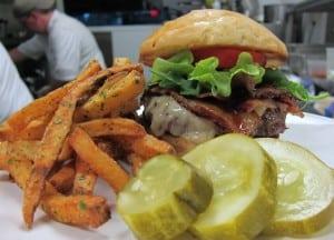 The burger