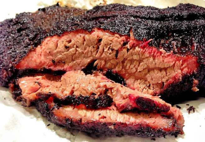 I smoked this brisket for about 11 hours low-and-slow