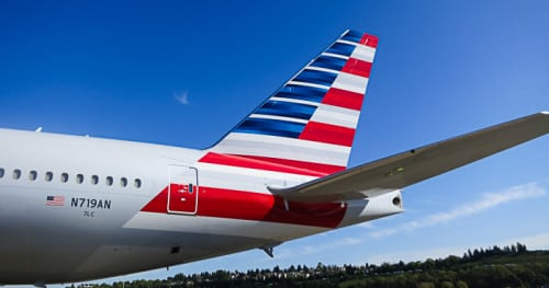 American Airlines tour of Boeing-6