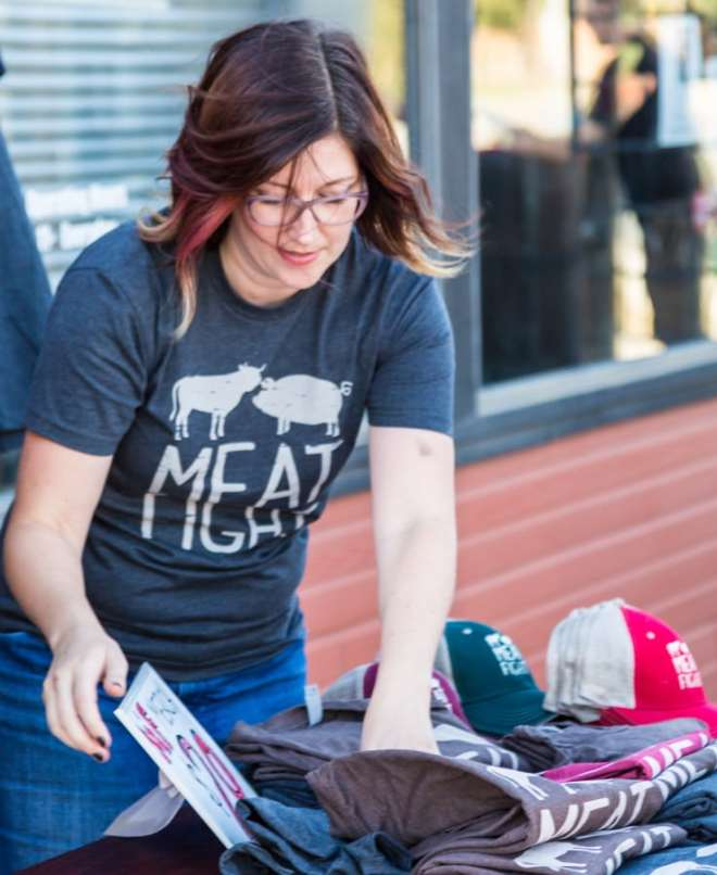 Alice Laussade at pitmasters bbq at slow bone for cafe momentum copyright Michael Hiller-3