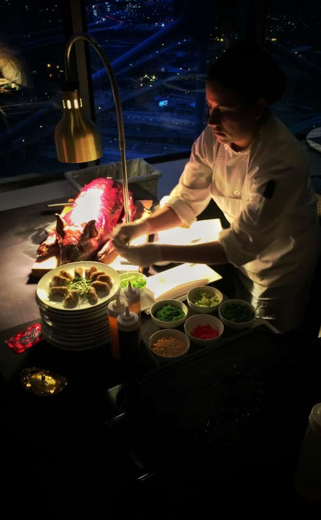 acdd0777cbd7 Wolfgang Puck s Five Sixty restaurant celebrates Chinese New Year with  special menu