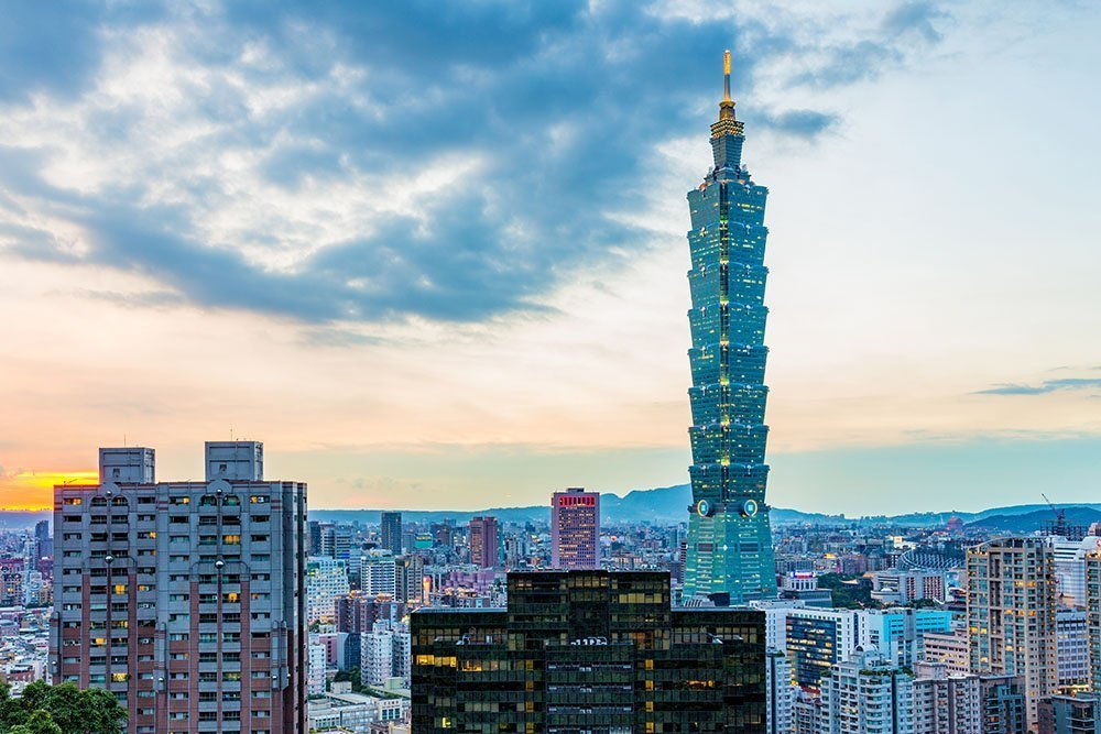 Top tourist spots in taipei - Taipei 101
