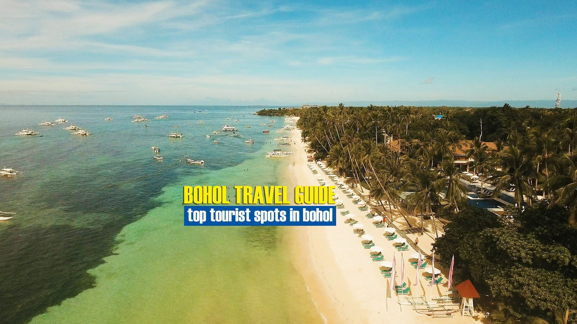 Explore the Top 5 Beaches in Bohol