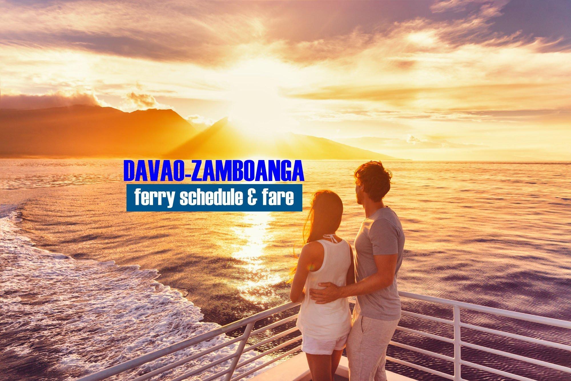 Davao to Zamboanga: 2019 Boat Schedule and Fare