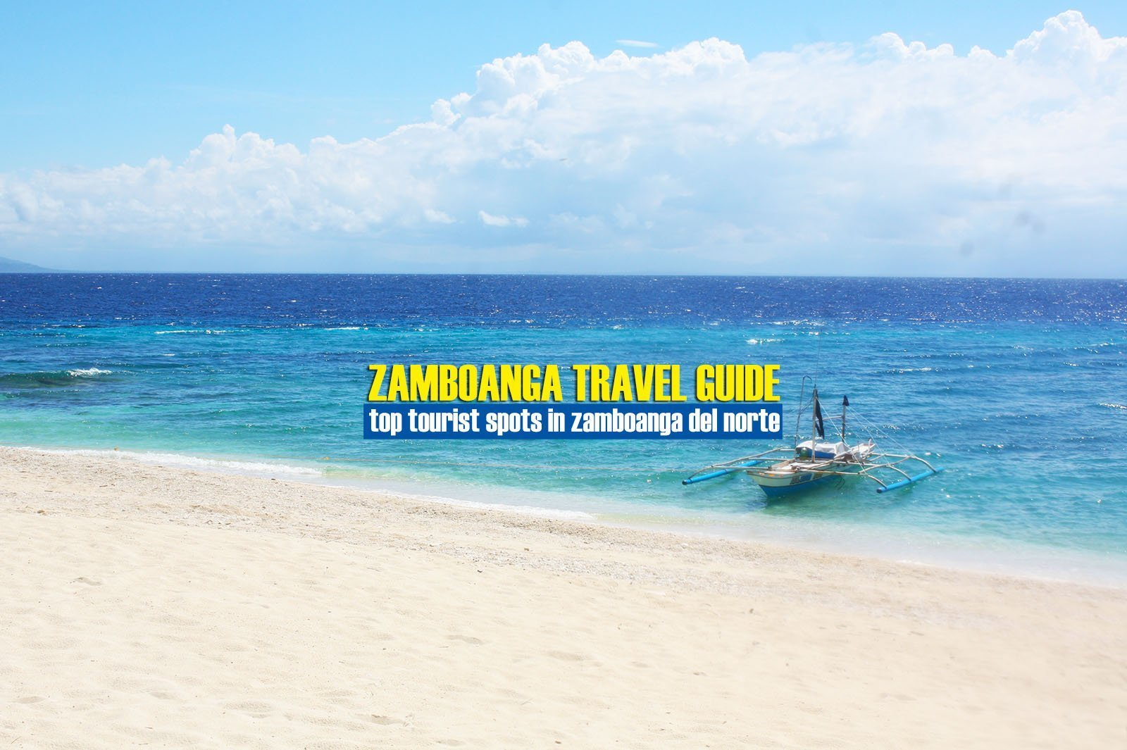 Top Tourist Spots in Zamboanga del Norte [And How To Get There]