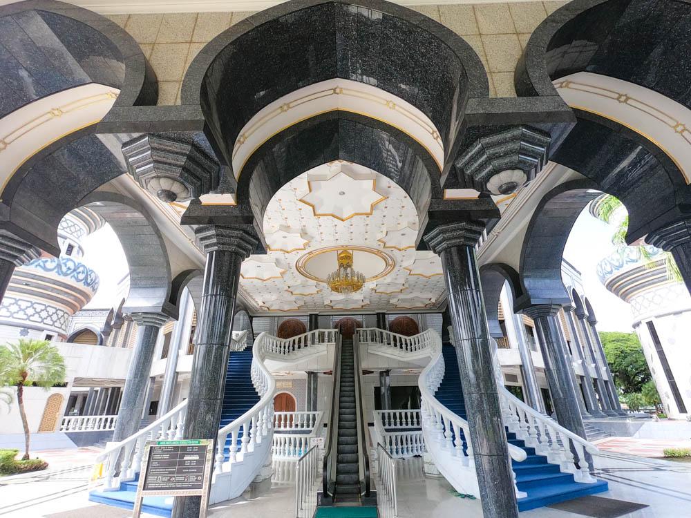 Jame' Asr Hassanil Bolkiah Mosque - a popular tourist attraction in Brunei