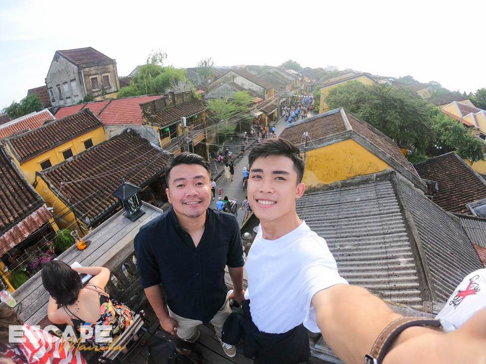 In Hoi An with Hieu