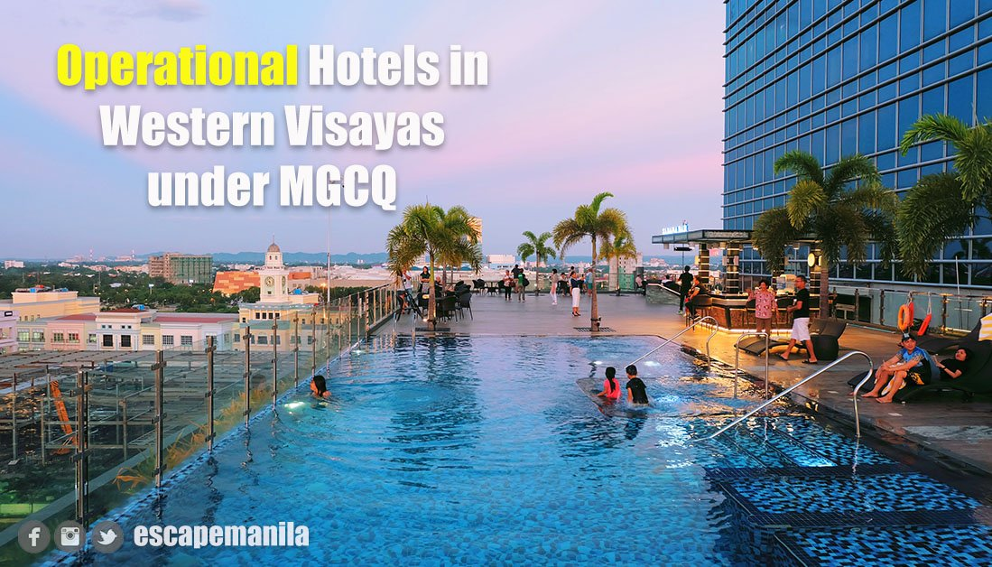 LIST: Operational Hotels in Western Visayas Under MGCQ