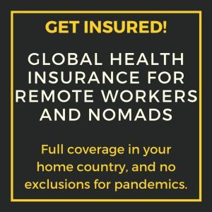Insurance for nomads and remote workers