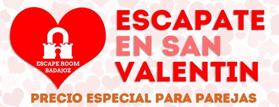 Escapate en San Valentín