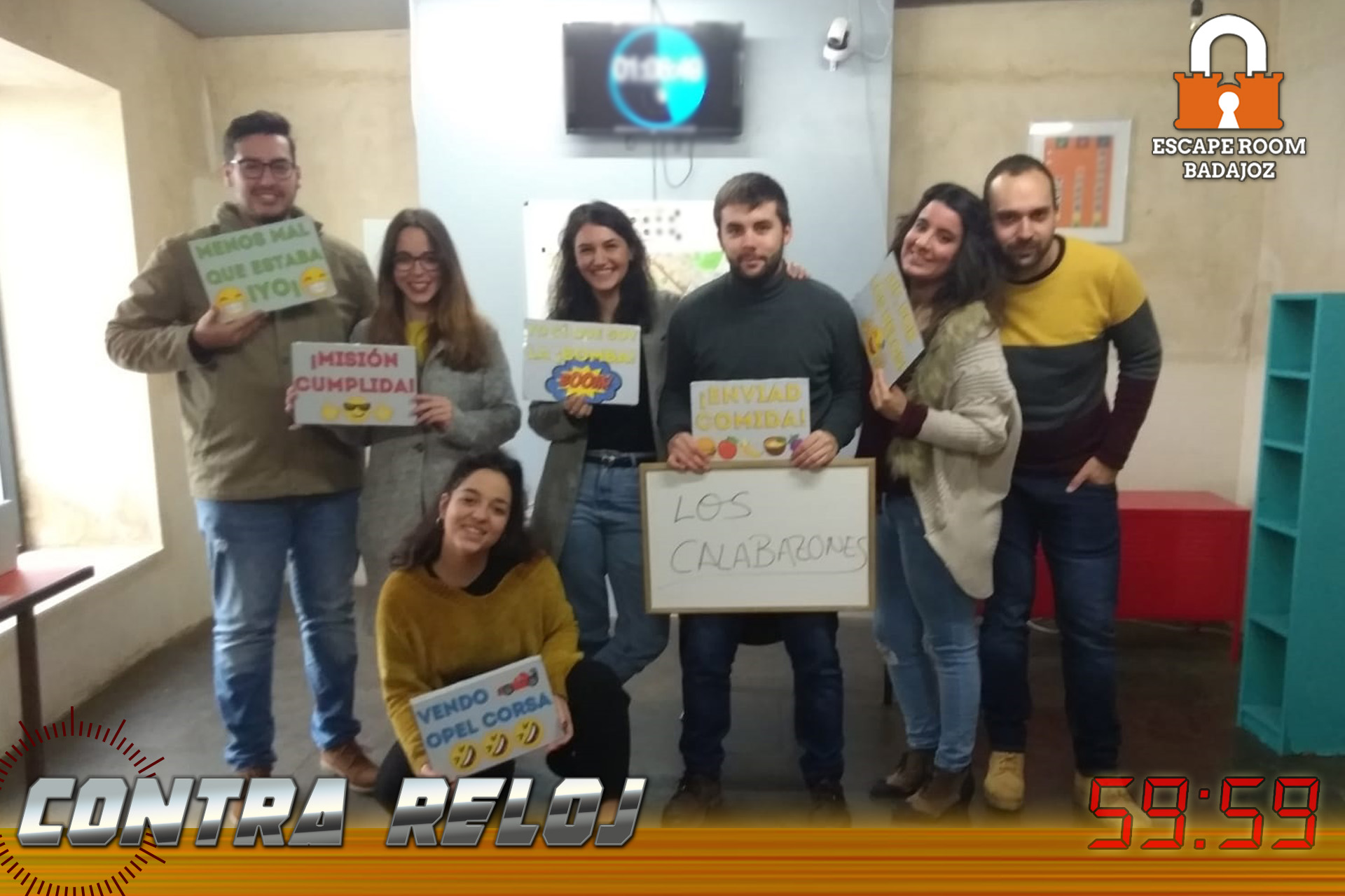 equipo-calabazones-escape-room-Badajoz