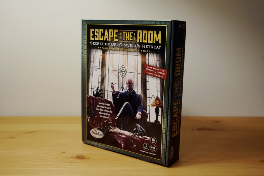 Secret of Dr Gravely's Retreat is the second installment of ThinkFun's Escape the Room series.