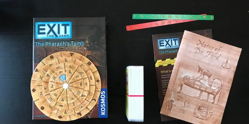 Escape The Room Board Game Think Fun