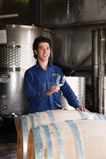 TERTINI winemaker Jonathan Holgate