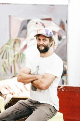 Ben Quilty, artist, Robertson