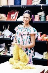 Natalie Miller, weaver, Kangaloon