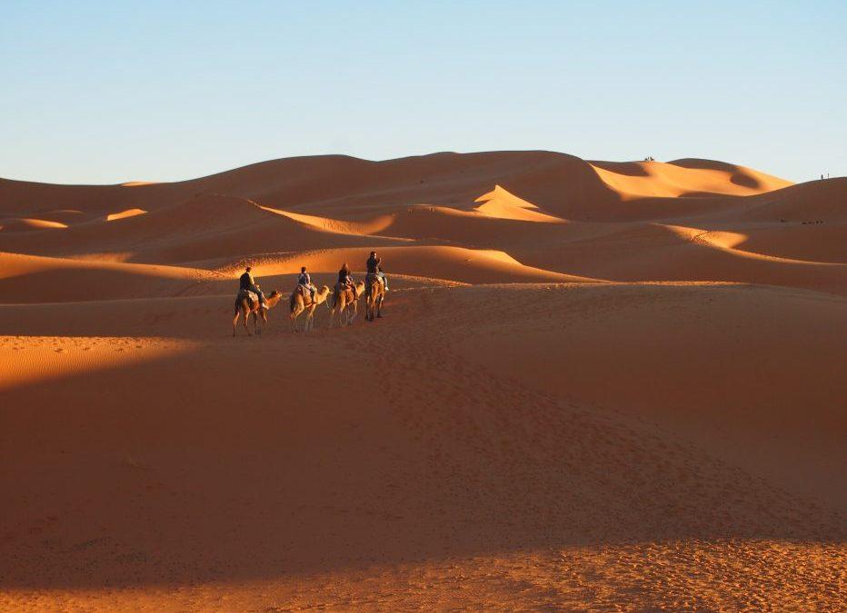 ▷Cómo hacer una Excursión de 3 días a Erg Chebbi en Merzouga desde Marrakech