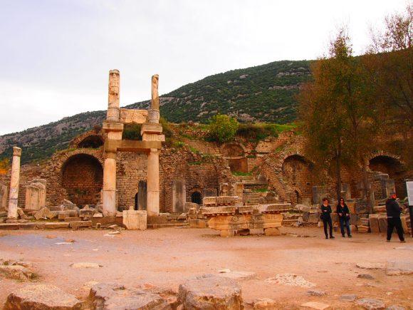 Templo de Domician Despedida desde Éfeso. Guía de Viaje Turquia