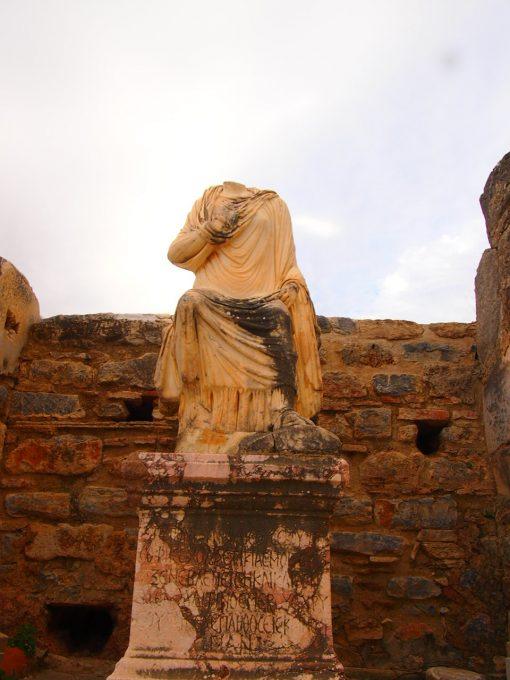 Despedida desde Éfeso. Guía de Viaje Turquia