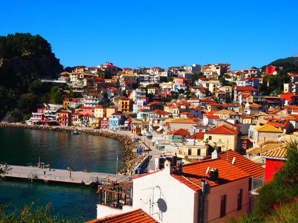 Parga Grecia Lugares romanticos para viajes en pareja