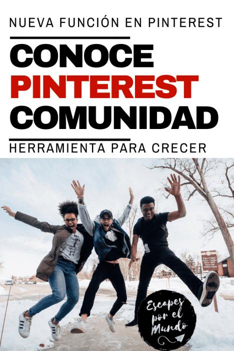 Comunidad Pinterest | Nueva herramienta para crecer