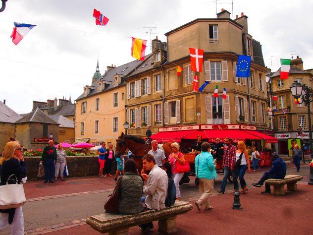 Guia de viaje Bayeux Normandia Francia