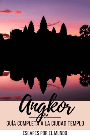 Angkor ciudad de los templos Guía completa Siem Reap Camboya