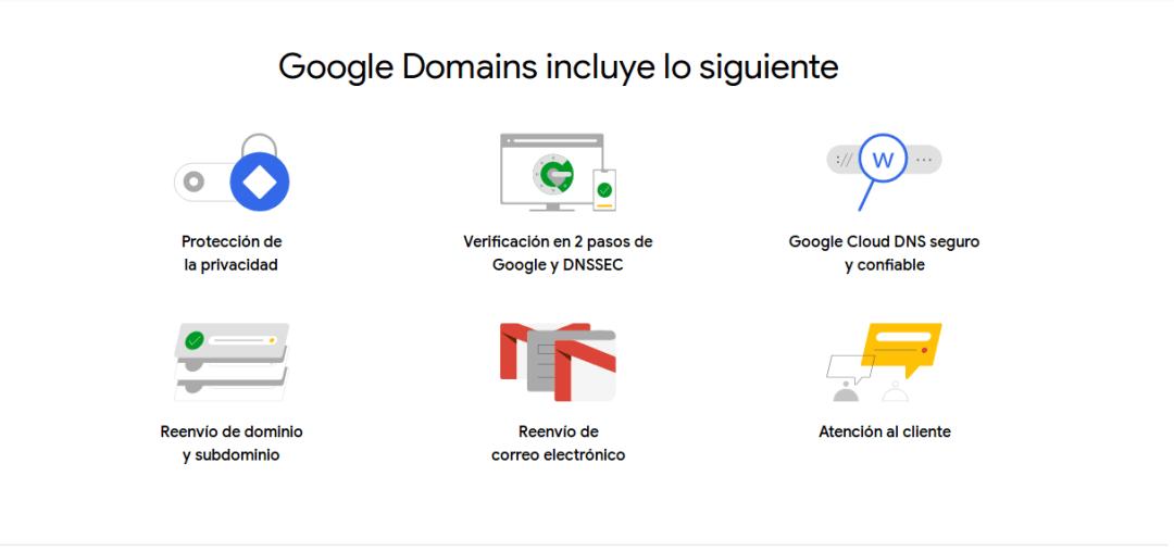 ventajas de google domain