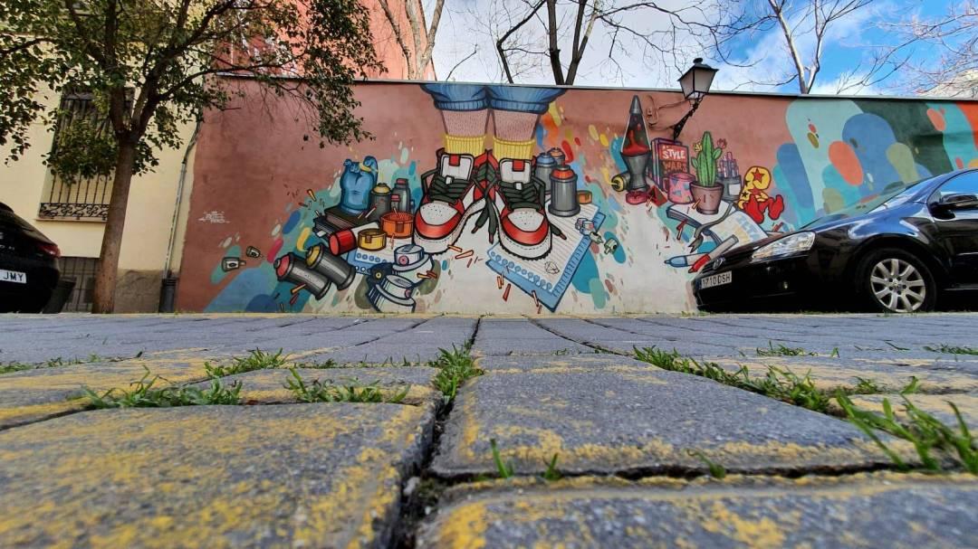 Foto Gerardo Reyna Arte urbano en la Calle DoctorFourquet