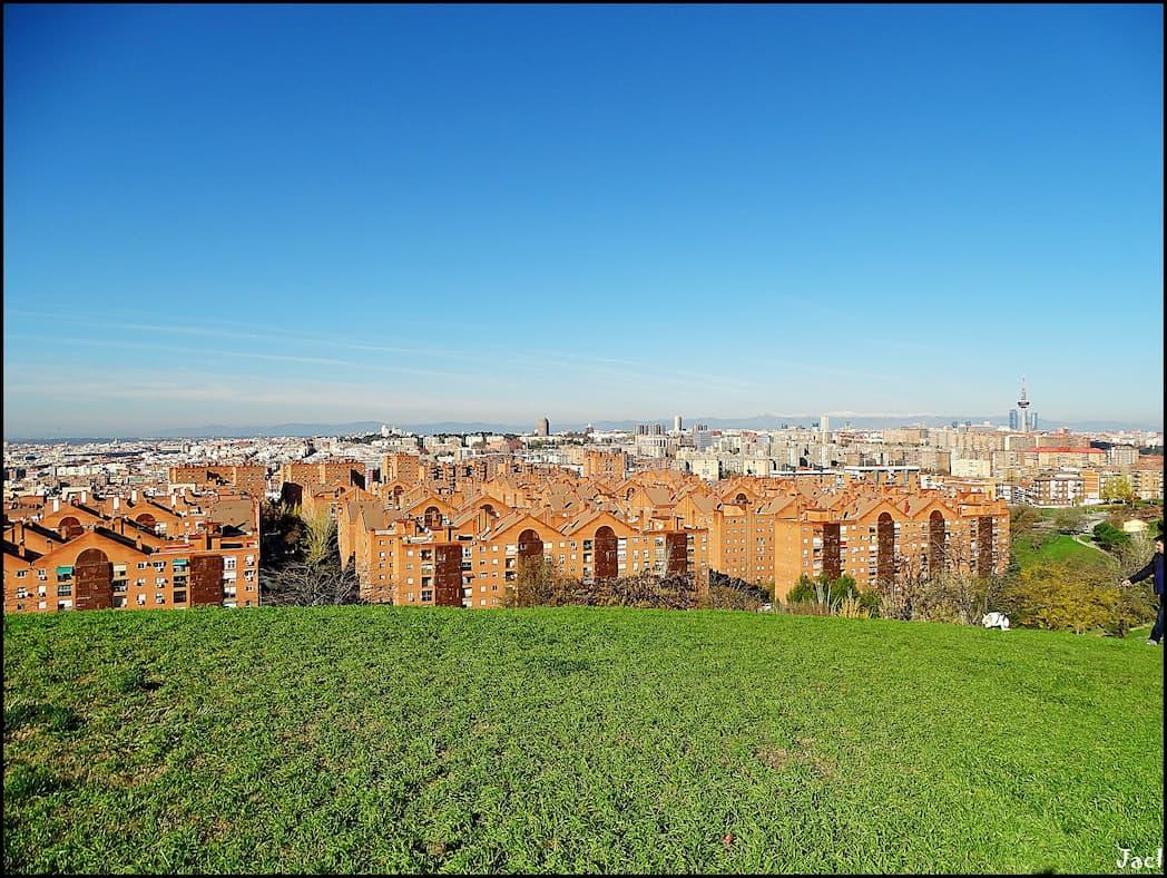 Foto Gonzalo Malpartida Vista aérea de Madrid rio
