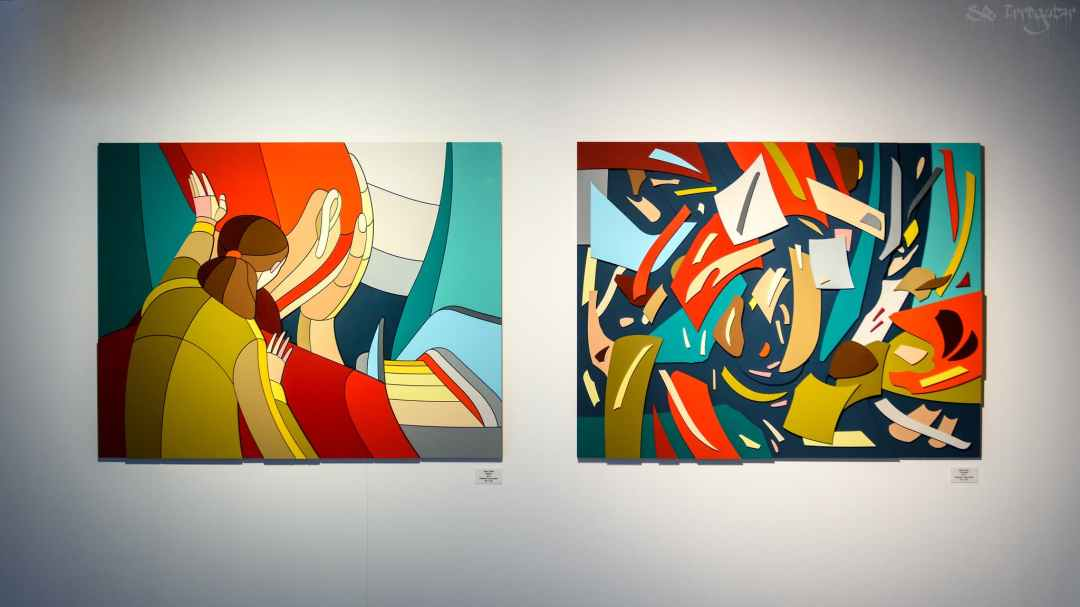 Foto Oscar Guerra Feria de arte Urvanity (Madrid art week)