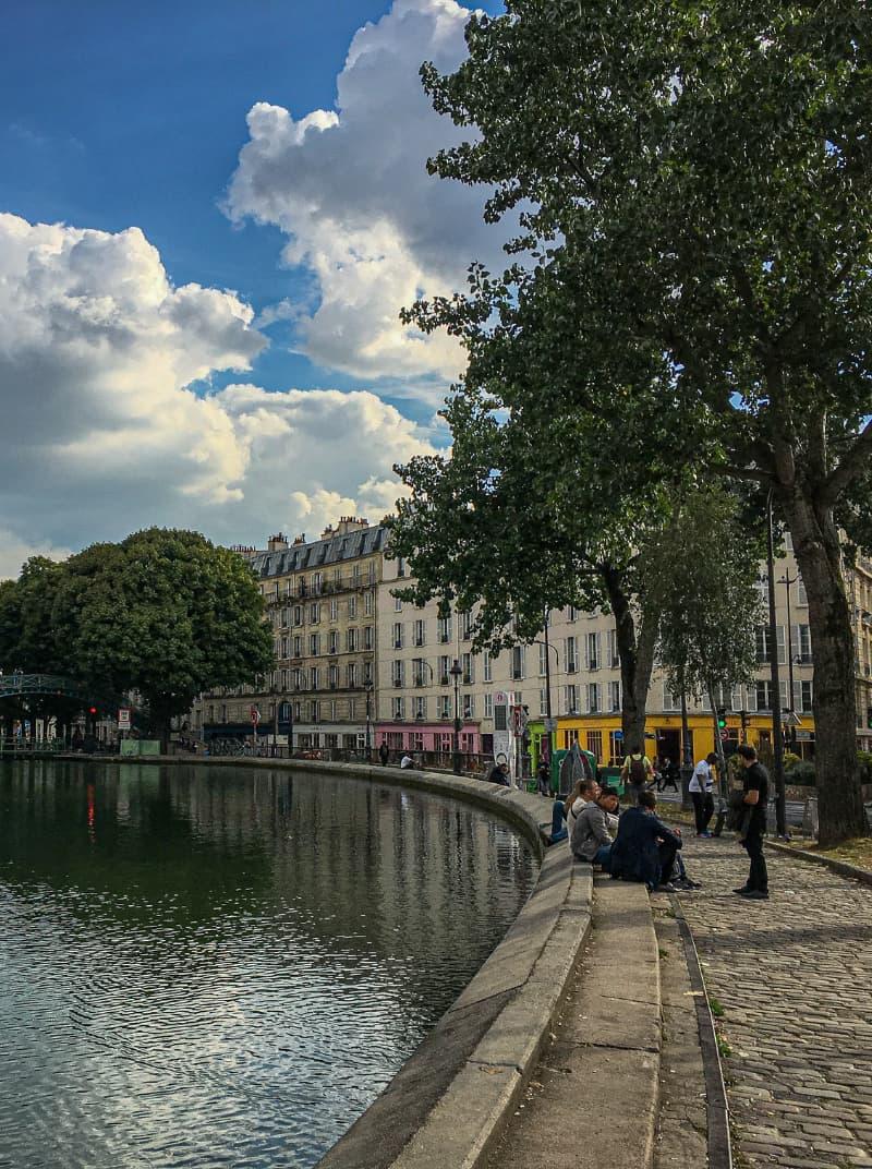alojarse en el barrio saint martin de París