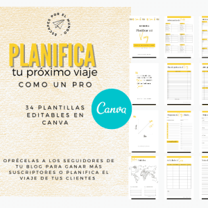 Kit Plantillas: Planifica tu viaje
