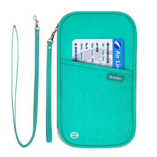 producto para viajeros - organizador de documentos de viaje accesorios esenciales para viajar