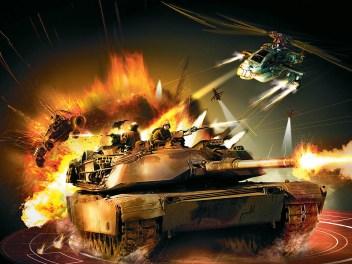 Battlefield 2 Modern Combat Box Art