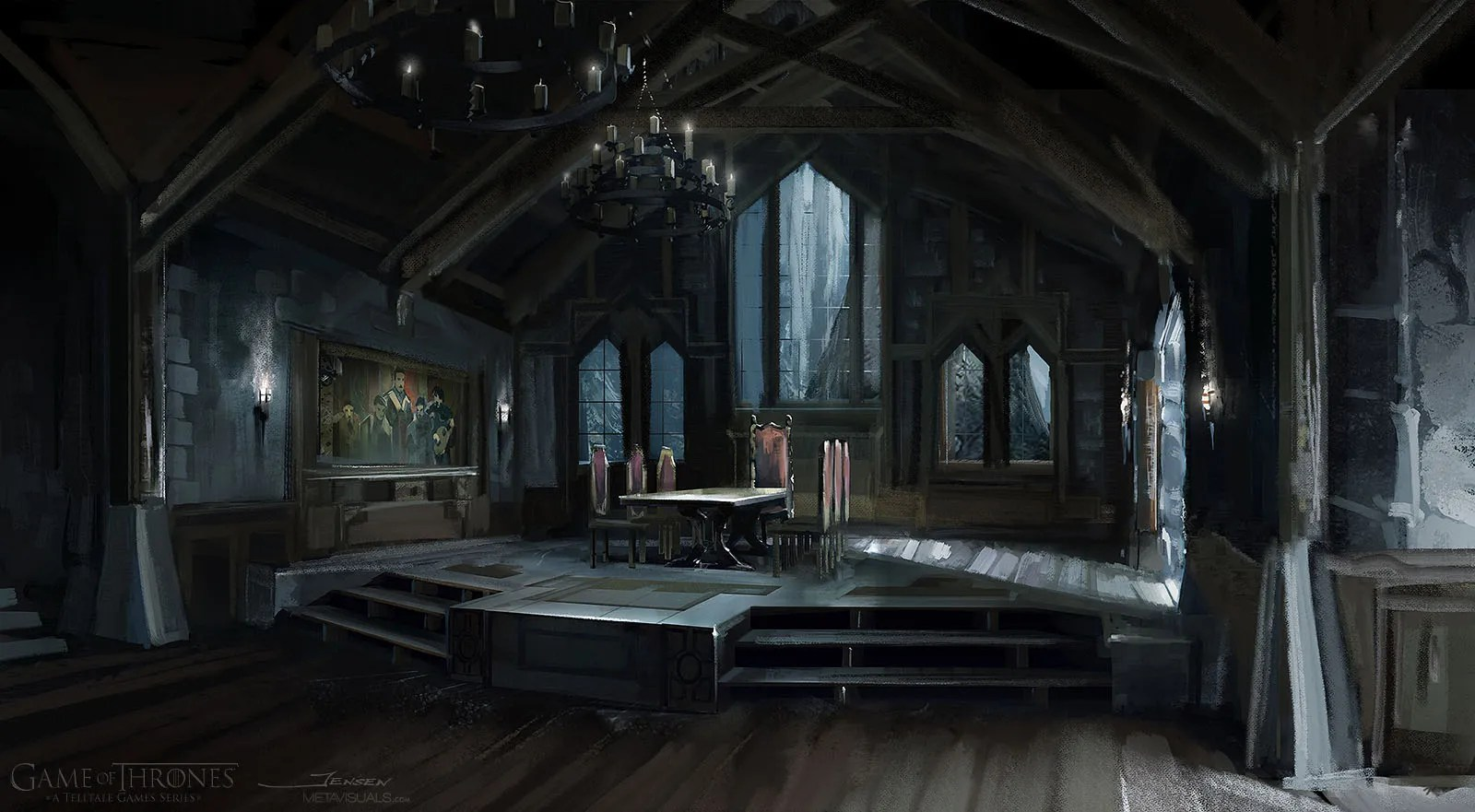 Patrick Jensen - Game of Thrones, Great Hall