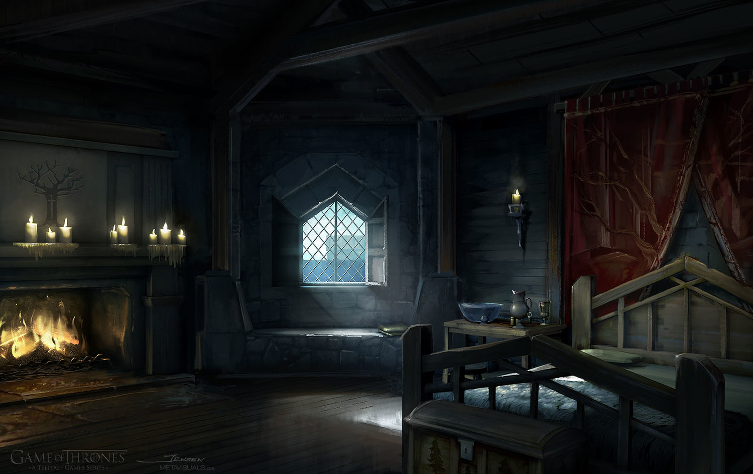 Patrick Jensen - Game of Thrones, Lords Chamber