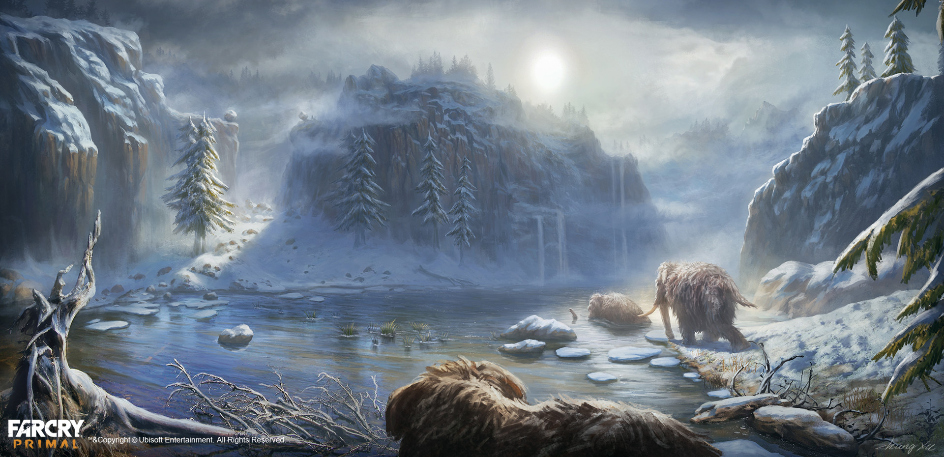 Far Cry Primal Concept Art By Xu Zhang 73 Escape The Level