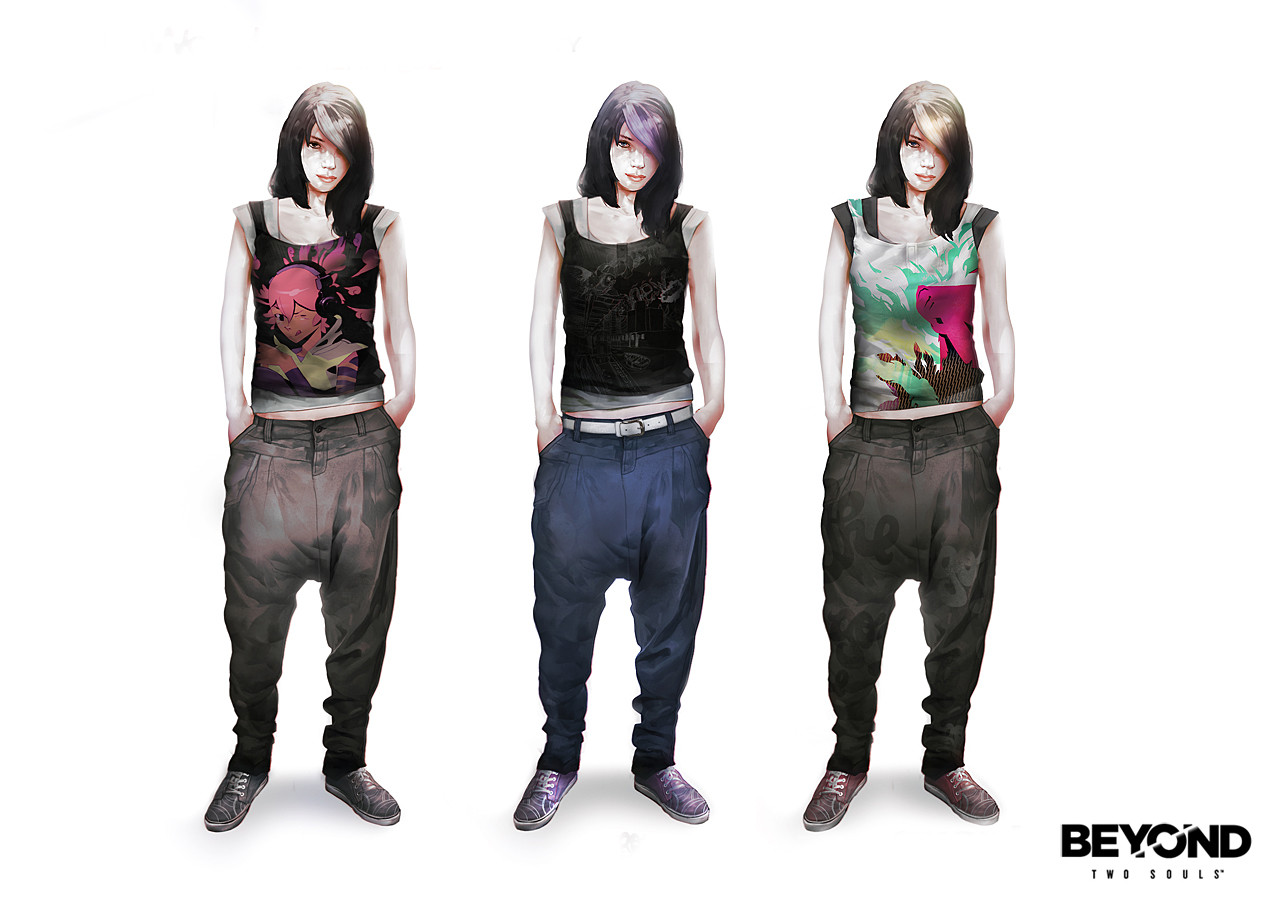 Beyond Two Souls Ryan Concepts