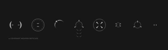 Jeff Christy UI Icons & Crosshairs