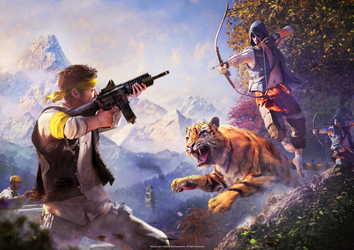 Far Cry 4 Concept Art