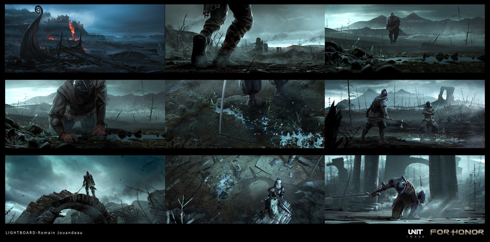 ForHonor Concept Art