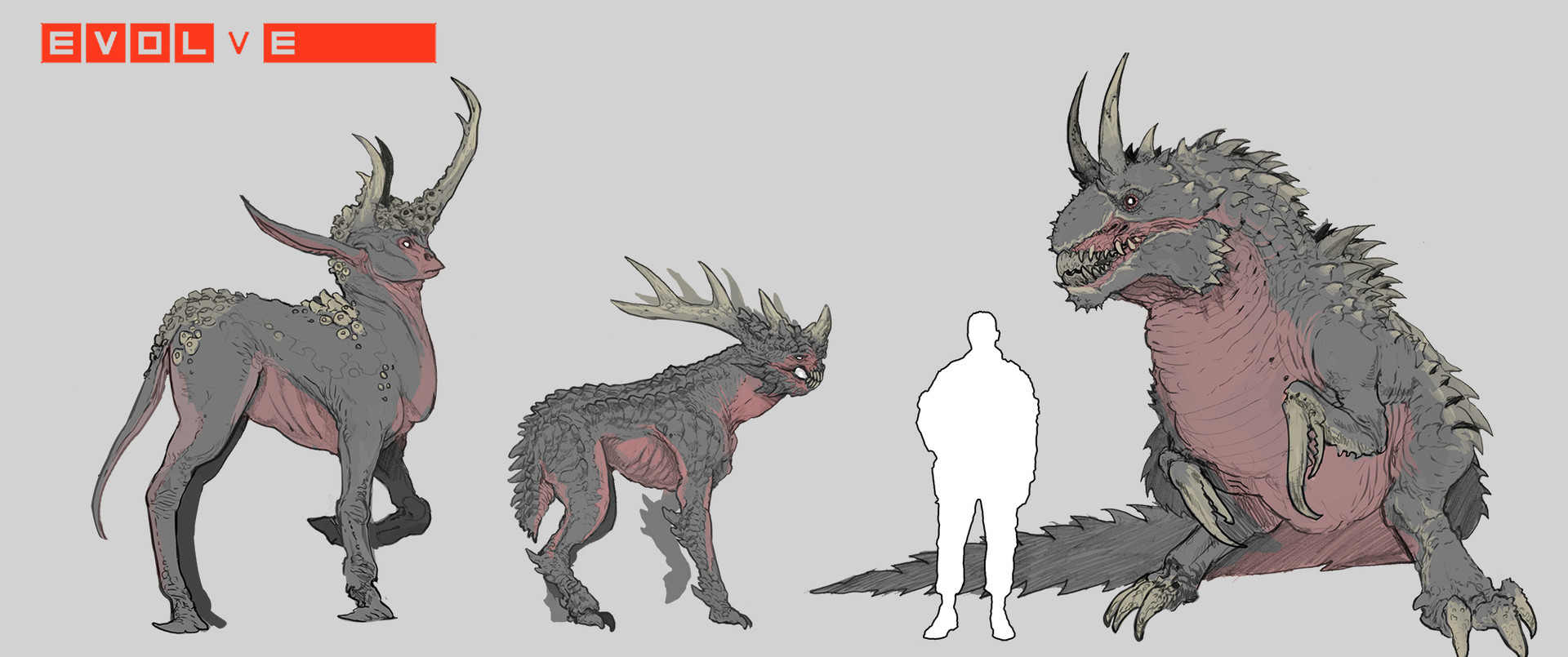 Evolve Creature Concept Art by - 200.3KB